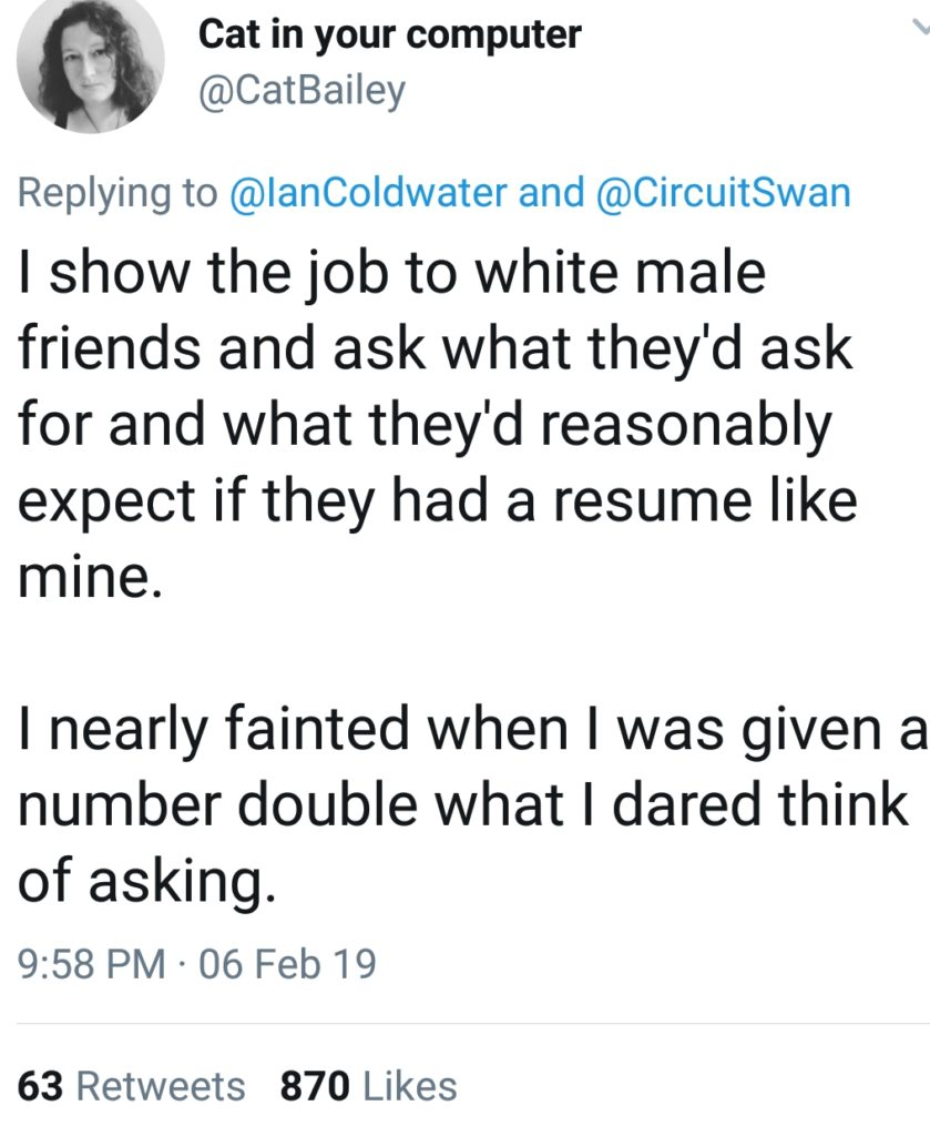 Salary Negotiation Tips from White Men in Tech: Part 1 – Career